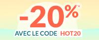 Code promo HOT20