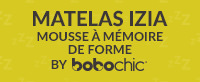 Matelas IZIA by BOBOCHIC