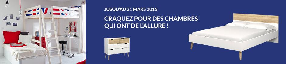 Jusqu'au 21 mars 2016 craquez pour des chambres qui ont de l'allure