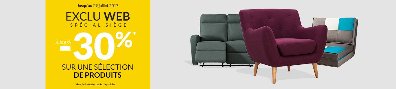 retrouvez sur des promos sur les exclus web. Black Bedroom Furniture Sets. Home Design Ideas