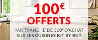 100€ offerts par tranche de 300€ d'achat