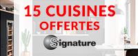 15 cuisines SIGNATURE OFFERTES