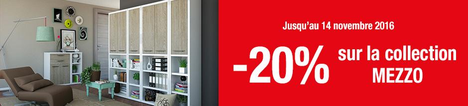 -20% sur une collection MEZZO*