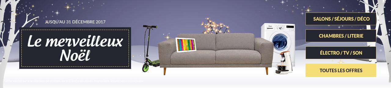Idées De Cadeaux De Noël Pour La Maison Et La Décoration Des Fêtes - Canapé convertible scandinave pour noël decoration meuble salon
