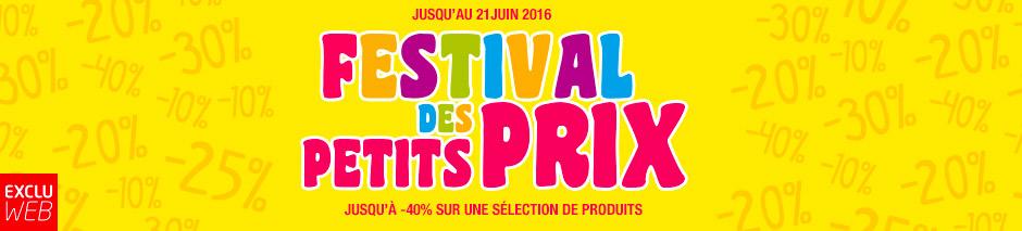 Festival des petits prix