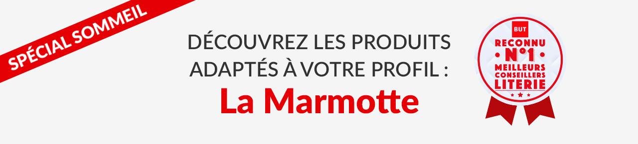 SPÉCIAL SOMMEIL découvrez les produits adaptés à votre profil : La Marmotte BUT reconnu n°1 meilleurs conseillers LITERIE