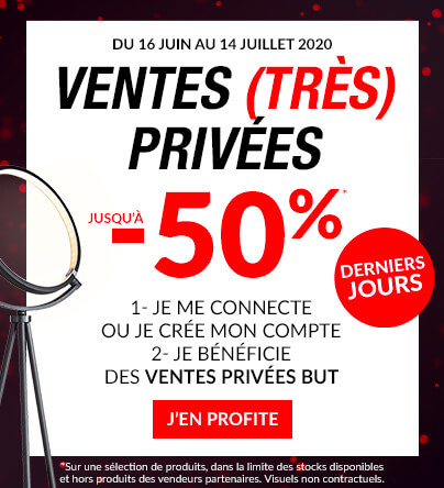 Ventes privées jusqu'à -50%
