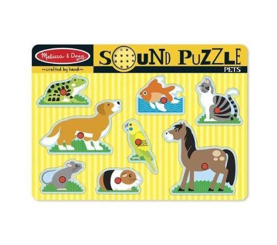 Puzzle Sonore - Animaux Domestiques