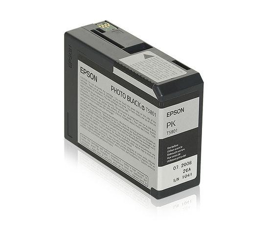 Cartouches D'encre Encre Pigment Noir Photo Sp 3800/3880 (80ml)
