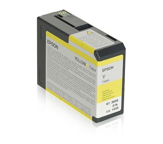 Cartouches D'encre Encre Pigment Jaune Sp 3800/3880 (80ml)