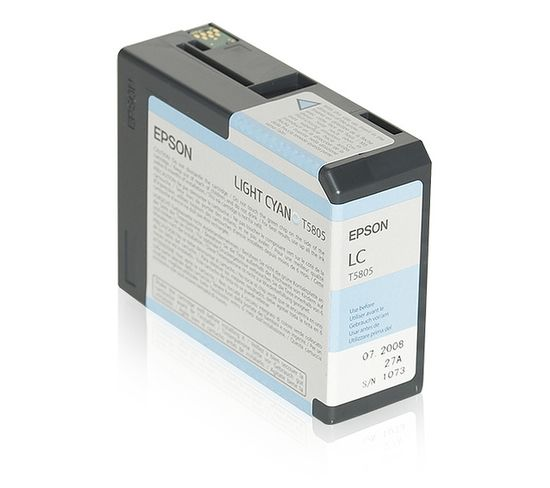 Cartouches D'encre Encre Pigment Cyan Clair Sp 3800/3880 (80ml)