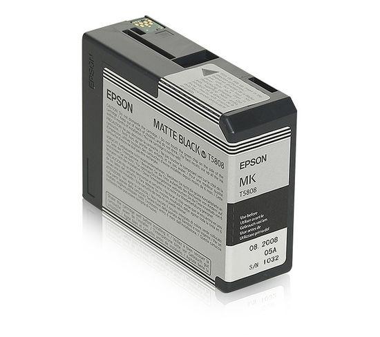 Cartouches D'encre Encre Pigment Noir Mat Sp 3800/3880 (80ml)