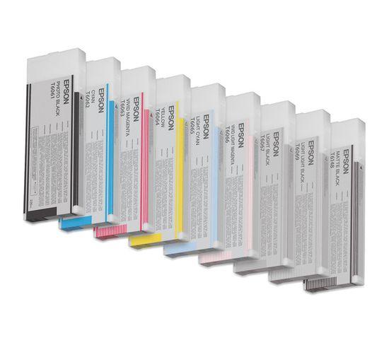 Cartouches D'encre Encre Pigment Gris Sp 4800/4880 (220ml)