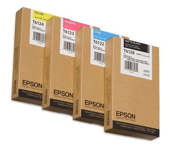 Cartouches D'encre Encre Pigment Cyan Sp 7400/7450/9400/9450 (220ml)