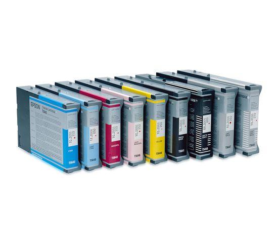 Cartouches D'encre Encre Pigment Jaune Sp 4400/4450 (220ml)
