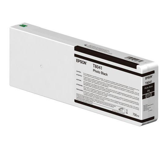 Cartouches D'encre Singlepack Photo Black T804100 Ultrachrome Hdx/hd 700ml