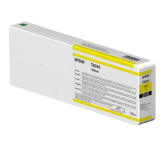 Cartouches D'encre Singlepack Yellow T804400 Ultrachrome Hdx/hd 700ml