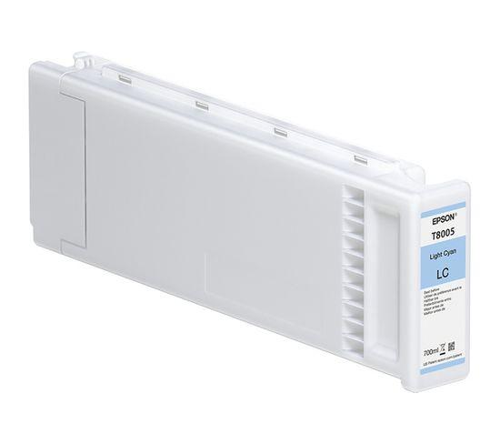 Cartouches D'encre Singlepack Light Cyan T800500 Ultrachrome Pro 700ml