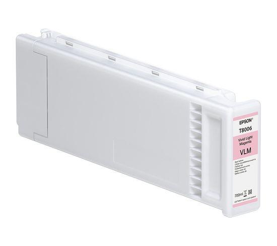 Cartouches D'encre Singlepack Vivid Light Magenta T800600 Ultrachrome Pro 700ml