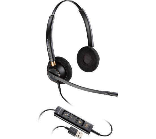 Casque Micro Filaire Encorepro Hw525 Noir