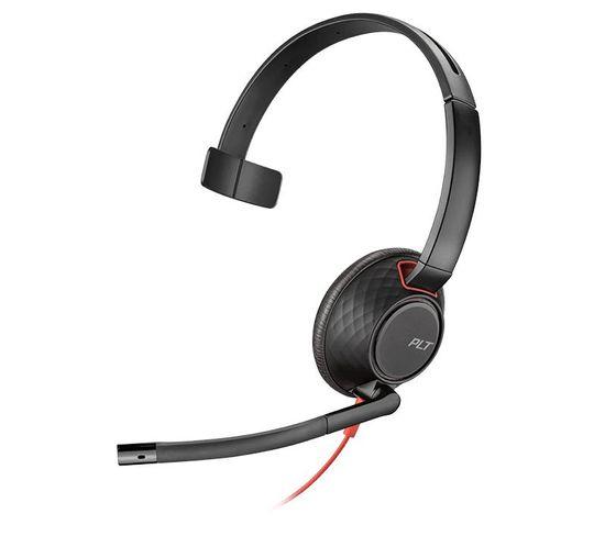 Casque Filaire Blackwire 5210 Noir, Rouge