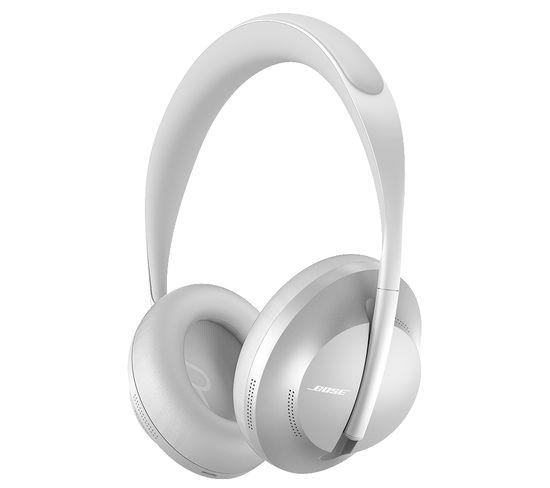 Casque Bluetooth Noise Cancelling Headphones 700 Argent