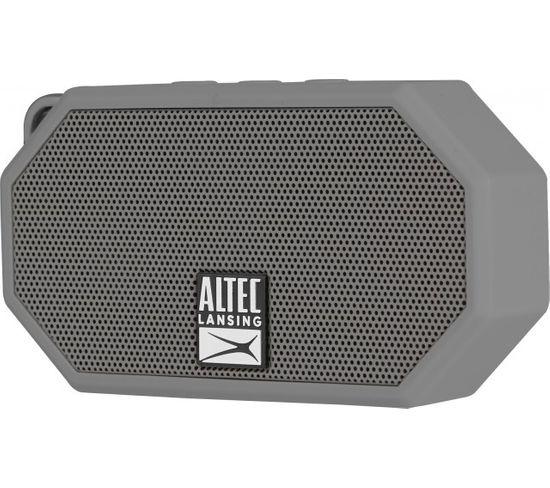 "Enceinte Bluetooth Bt, ""mini H20"" Gris , Ip67 / Altec Lansing"