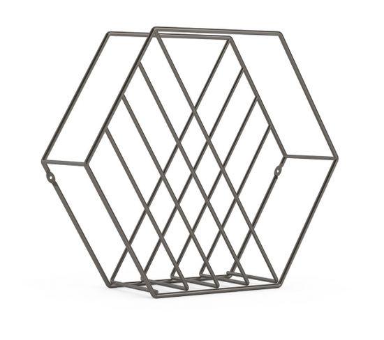 Rangement Magazine Structure Hexagonale Zina