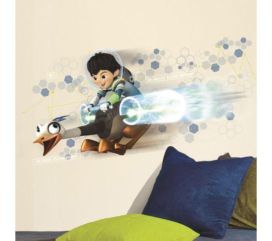 Stickers Géant Miles et Merc Dans L'espace Disney
