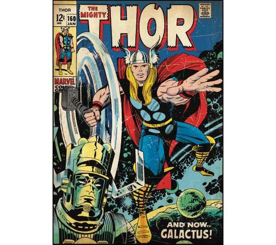 Stickers Repositionnables Géants Thor, Marvel Comic Book 61x87 - Marvel Thor Comic Book