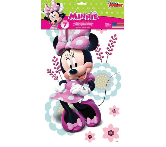 Stickers Repositionnables De Minnie, Personnage De Disney - Disney Minnie Mouse