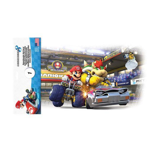 Stickers Repositionnables Mario Kart 8, Nintendo - Nintendo Mario Kart