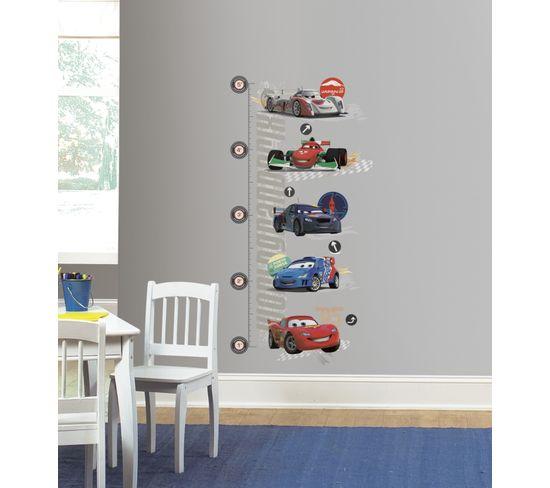 Stickers Repositionnables Échelle De Mesure Taille Enfant, Cars, Disney - Disney Toys Cars 2