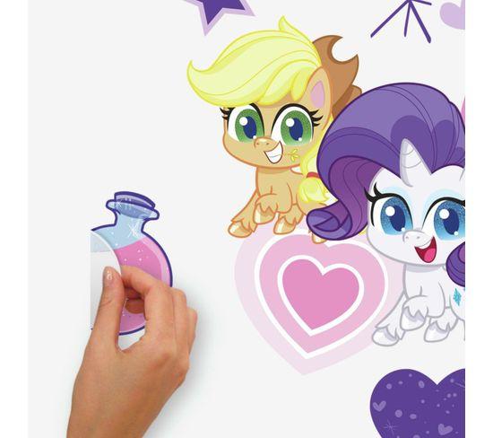 Sticker Géant Repositionnable My Little Pony Let's Get Magical  - 43x92 Cm