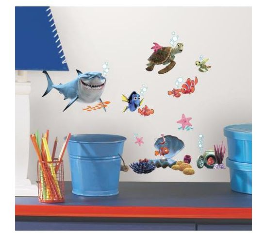 Stickers Repositionnables Le Monde De Nemo, Film D'animation Disney - Disney Le Monde De Nemo