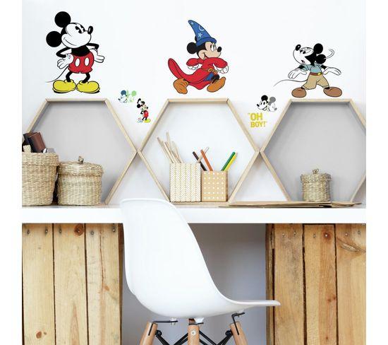 Stickers Disney Mickey Mouse - Modèle 90 Ans De Magie