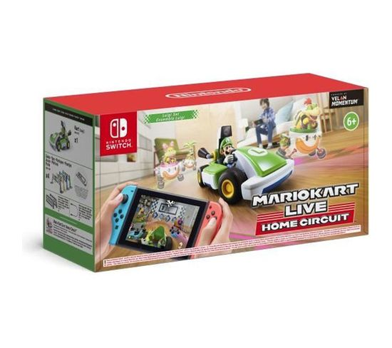 Mario Kart Live Home Circuit Luigi - Jeu Swicth