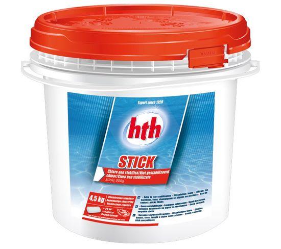 Hth Stick 4,5 Kg - Chlore Non Stabilisé Stick De 300g