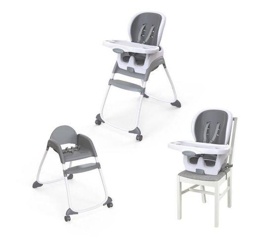 Chaise Haute Bébé Smartclean™ Trio 3-en-1 High Chair™ - Slate™