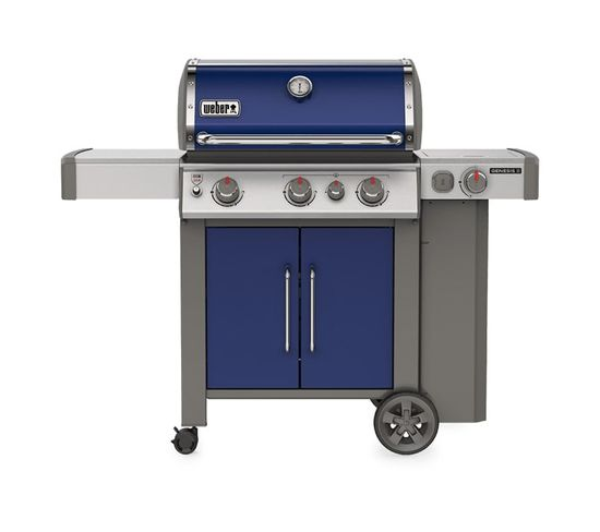 Barbecue À Gaz Weber Genesis 2 Ep-335 Gbs Deep Ocean Blue
