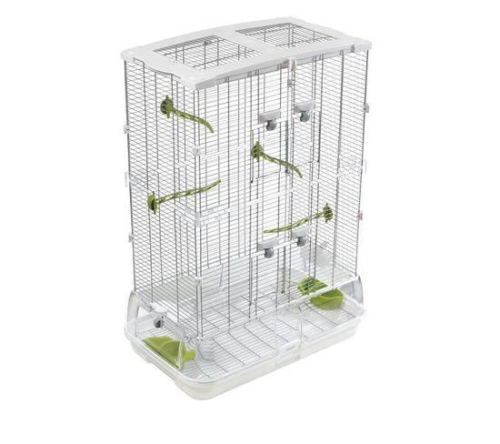 Cage Vision M02 Blanc/vert