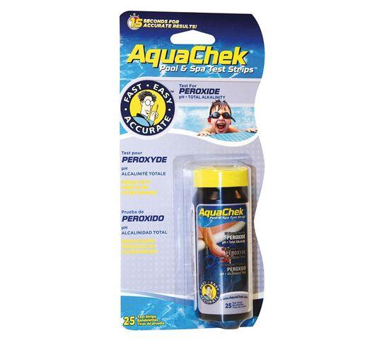 25 Bandelettes Test Pour Peroxyde - Aquaperox