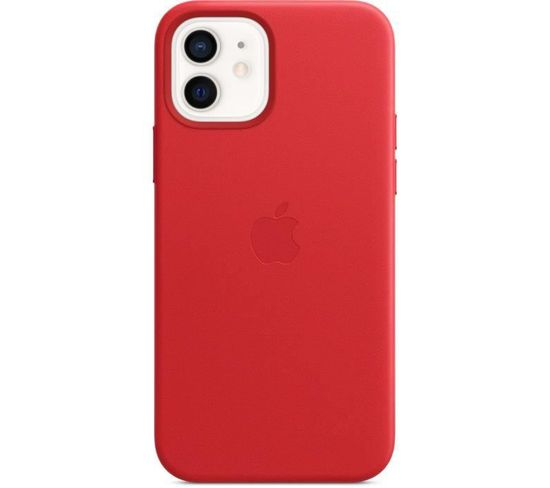 iPhone 12   12 Pro Coque En Cuir Avec Magsafe - (product)red