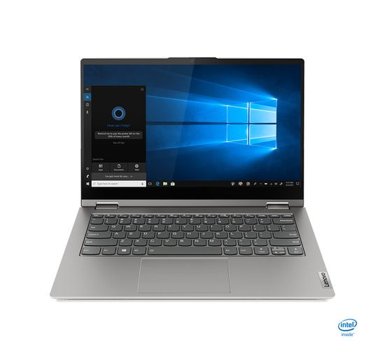 """PC Portable Thinkbook 14s Yoga 14"""" I7 16 Go Gris 512 Go"""
