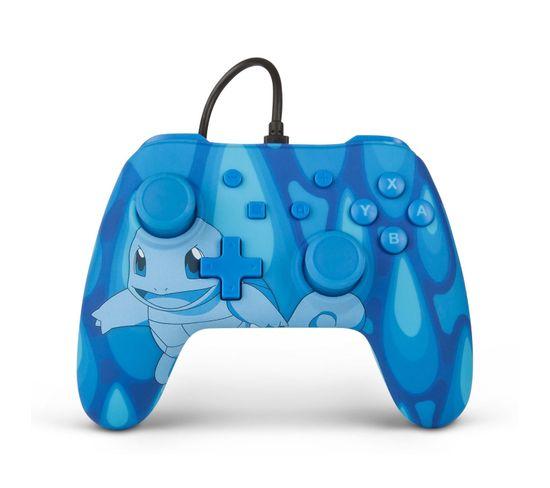 Squirtle Torrent Manette De Jeu Nintendo Switch Analogique/numérique Usb Bleu