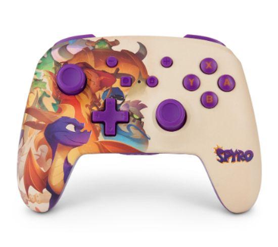 Spyro Manette De Jeu Nintendo Switch Analogique/numérique Bluetooth Multicolore