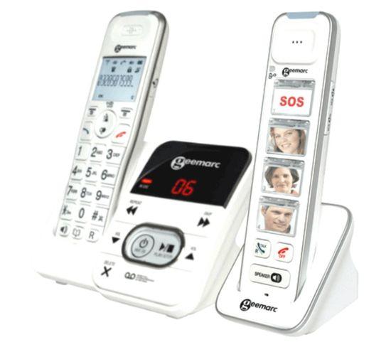 Téléphone Sans Fil 295 avec répondeur Combiné Photo