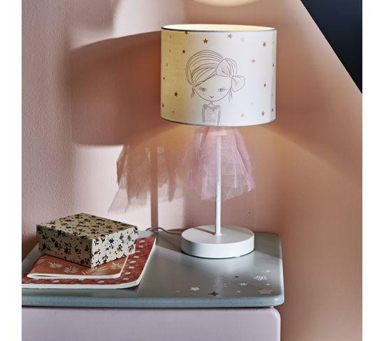 Lampe à poser BALLERINE Blanc/rose