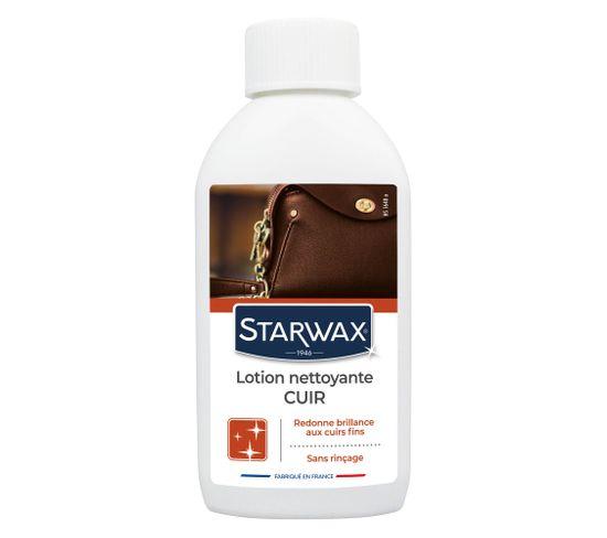 Lotion nettoyante sans rinçage STARWAX pour cuirs délicats 200 ml