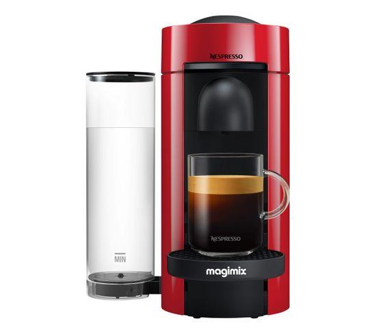 Expresso à capsules MAGIMIX 11389 Nespresso Vertuo rouge